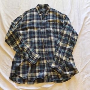 CANYON GUIDE OUTFITTERS Men's Large Flannel
